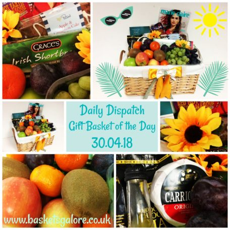 Baskets Galore's Customer Gifts - Gift Basket of the Day 30.04.18