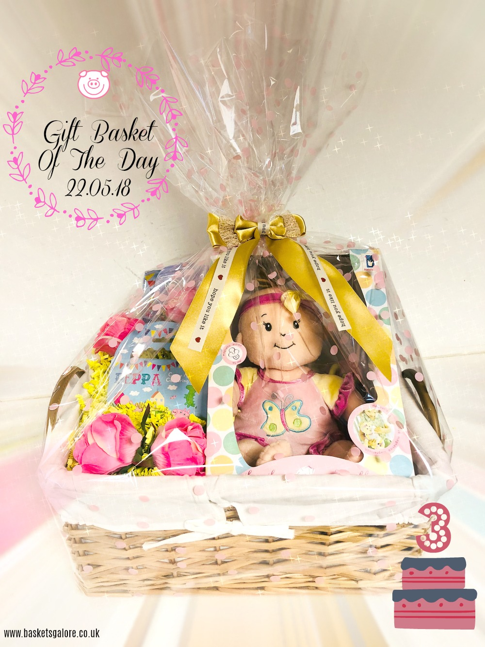 Baskets Galore's Customer Gifts – Gift Basket of the Day 22.05.18