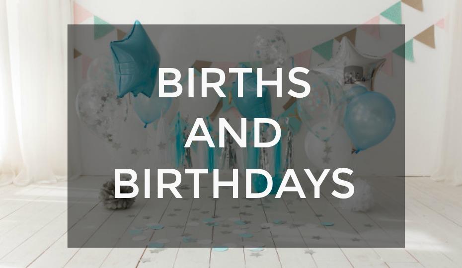 Births and Birthdays: July Gift Ideas