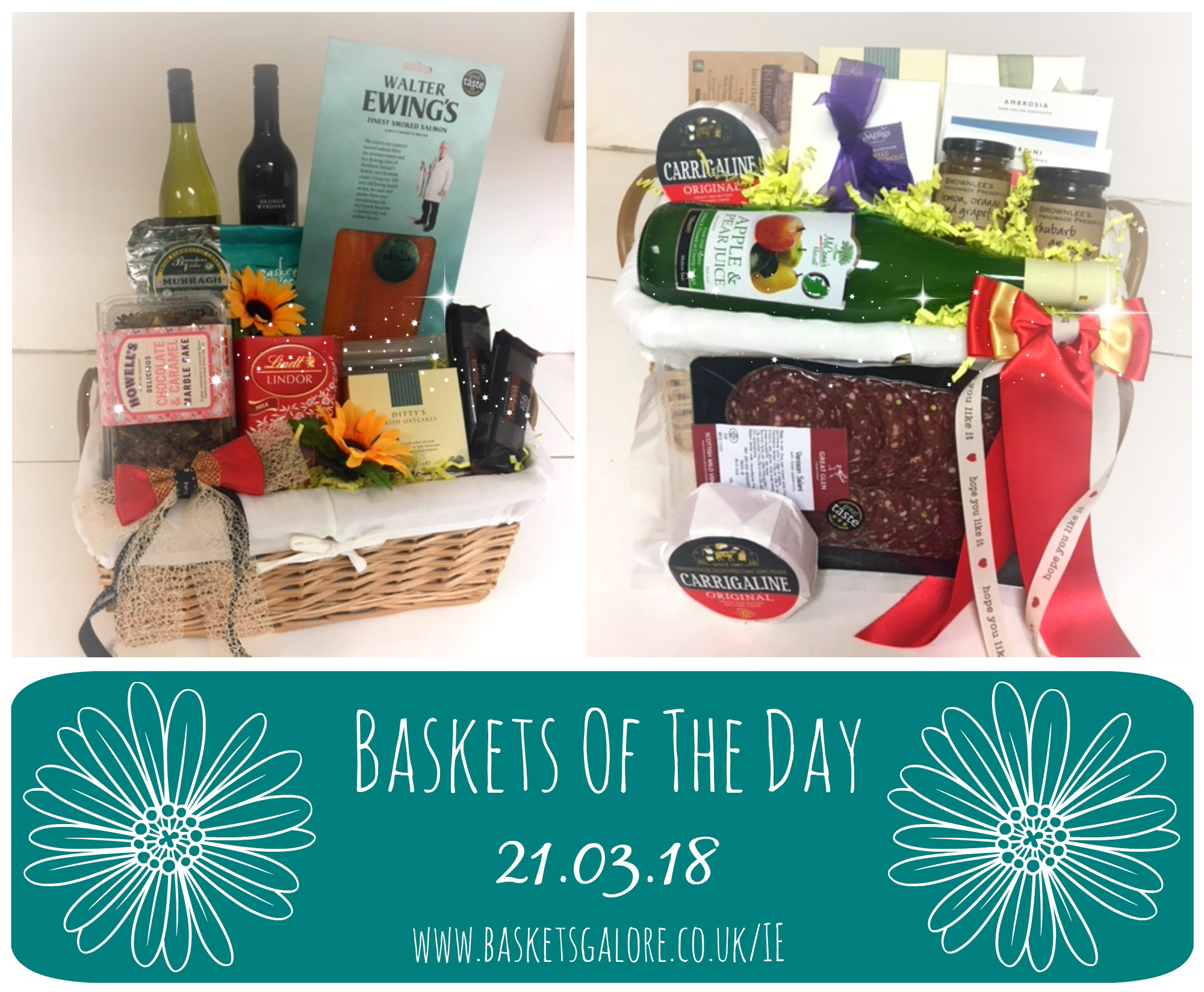 Baskets Galore's Customer Gifts – Gift Basket of the Day 21.03.18