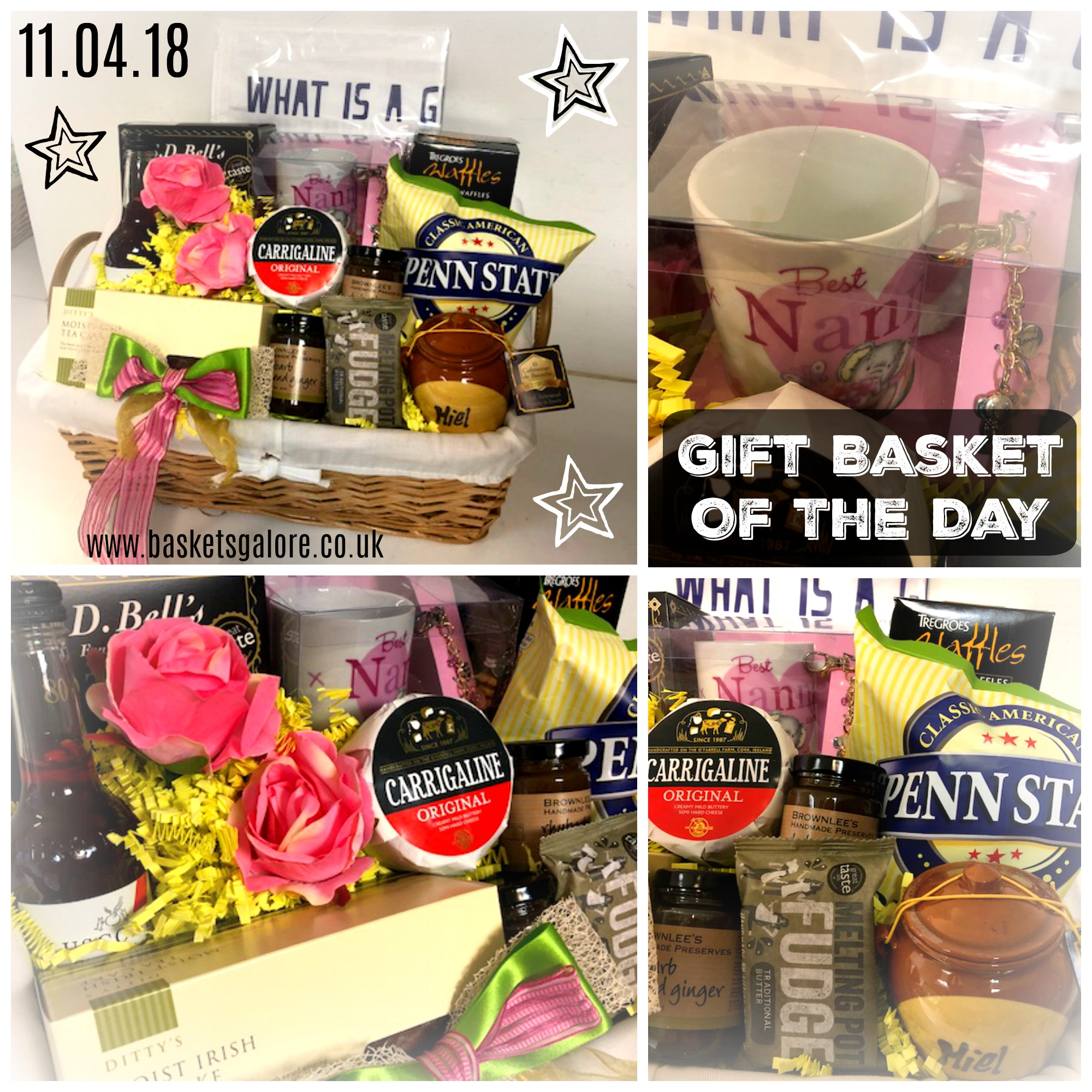 Baskets Galore's Customer Gifts – Gift Basket of the Day 11.04.18