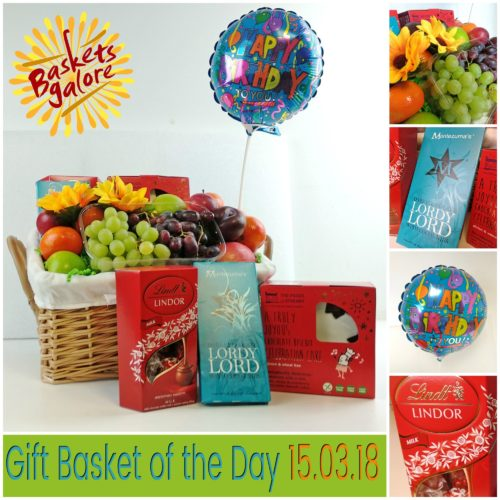 Baskets Galore's Customer Gifts – Gift Basket of the Day 15.03.18