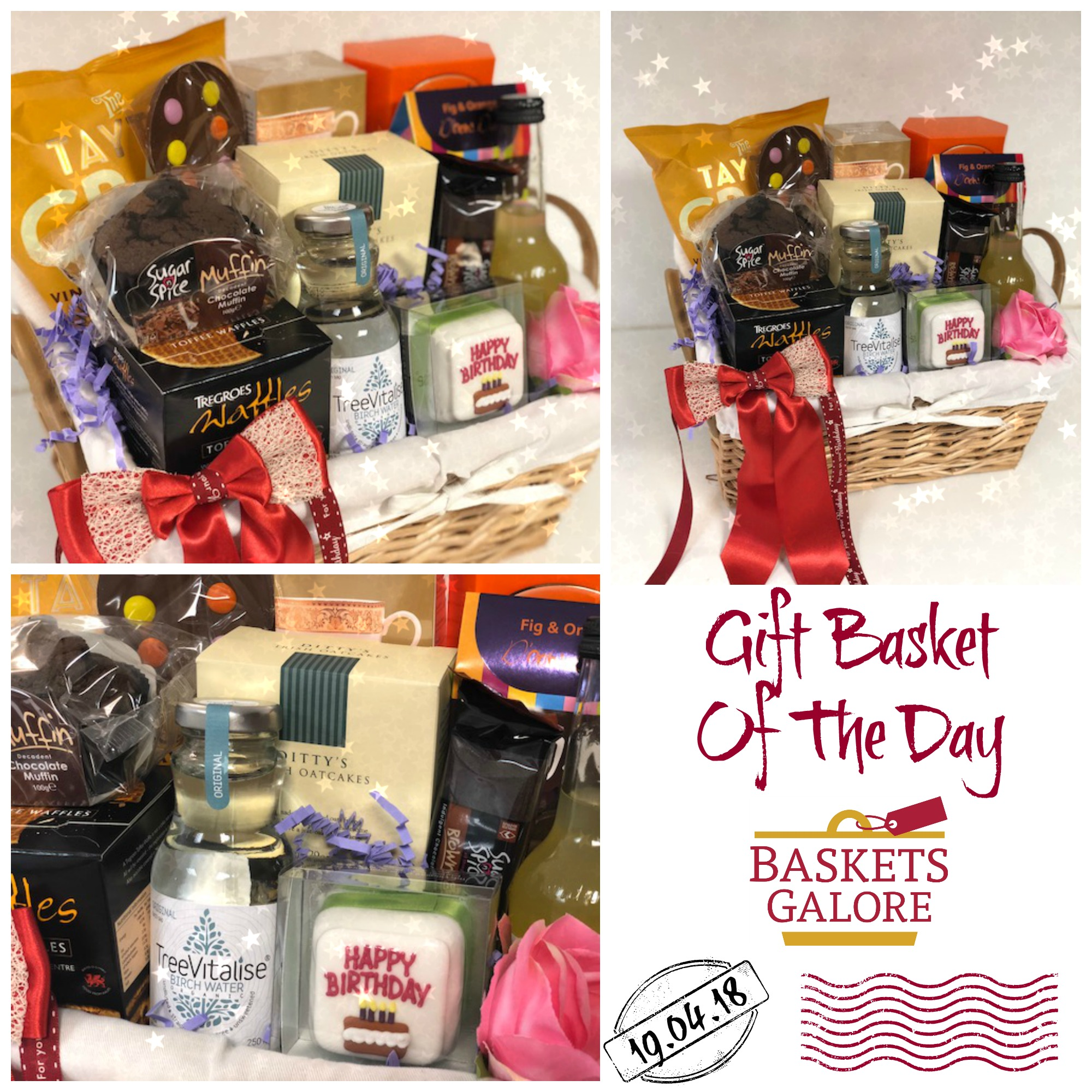 Baskets Galore's Customer Gifts – Gift Basket of the Day 19.04.18
