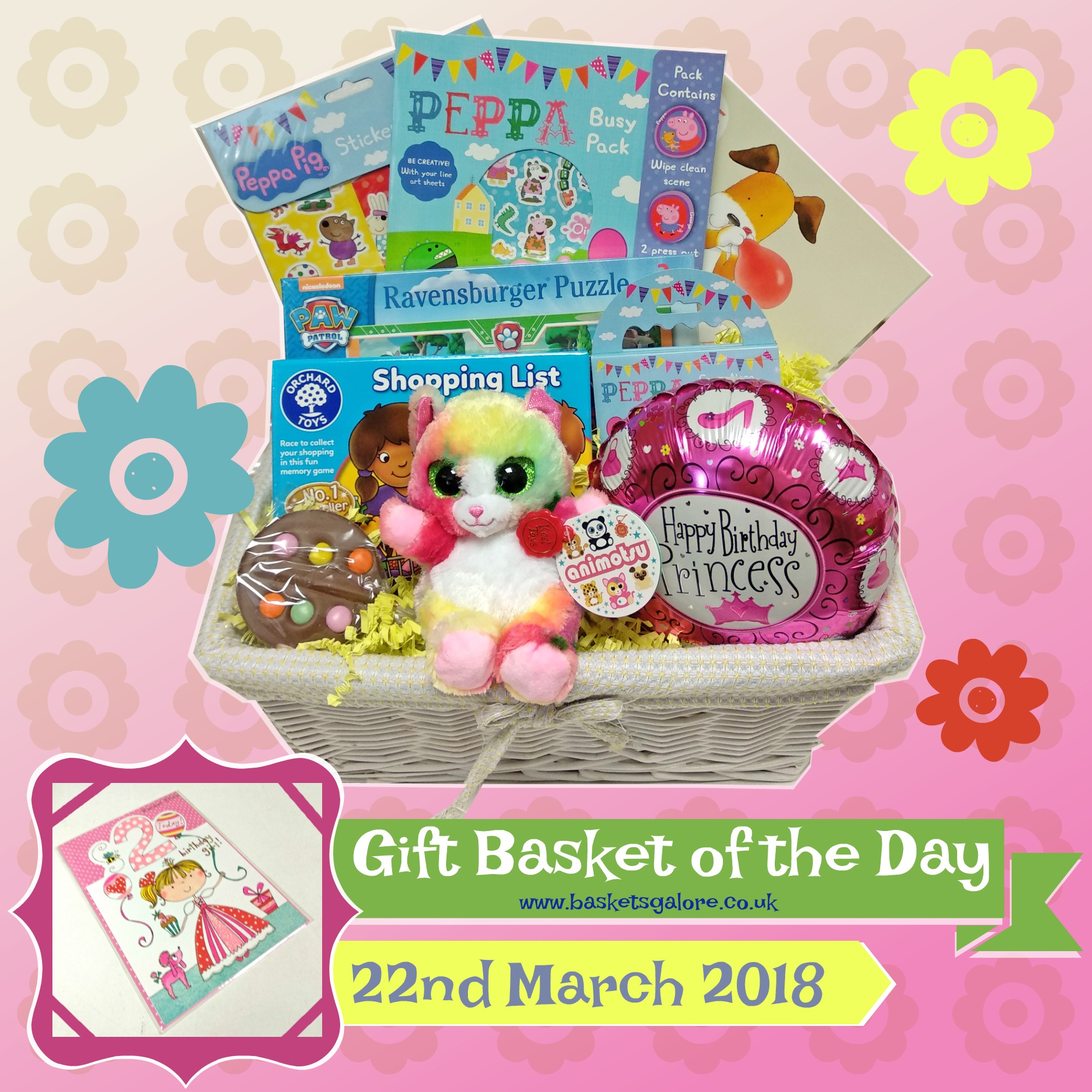 Baskets Galore's Customer Gifts – Gift Basket of the Day 22.03.18