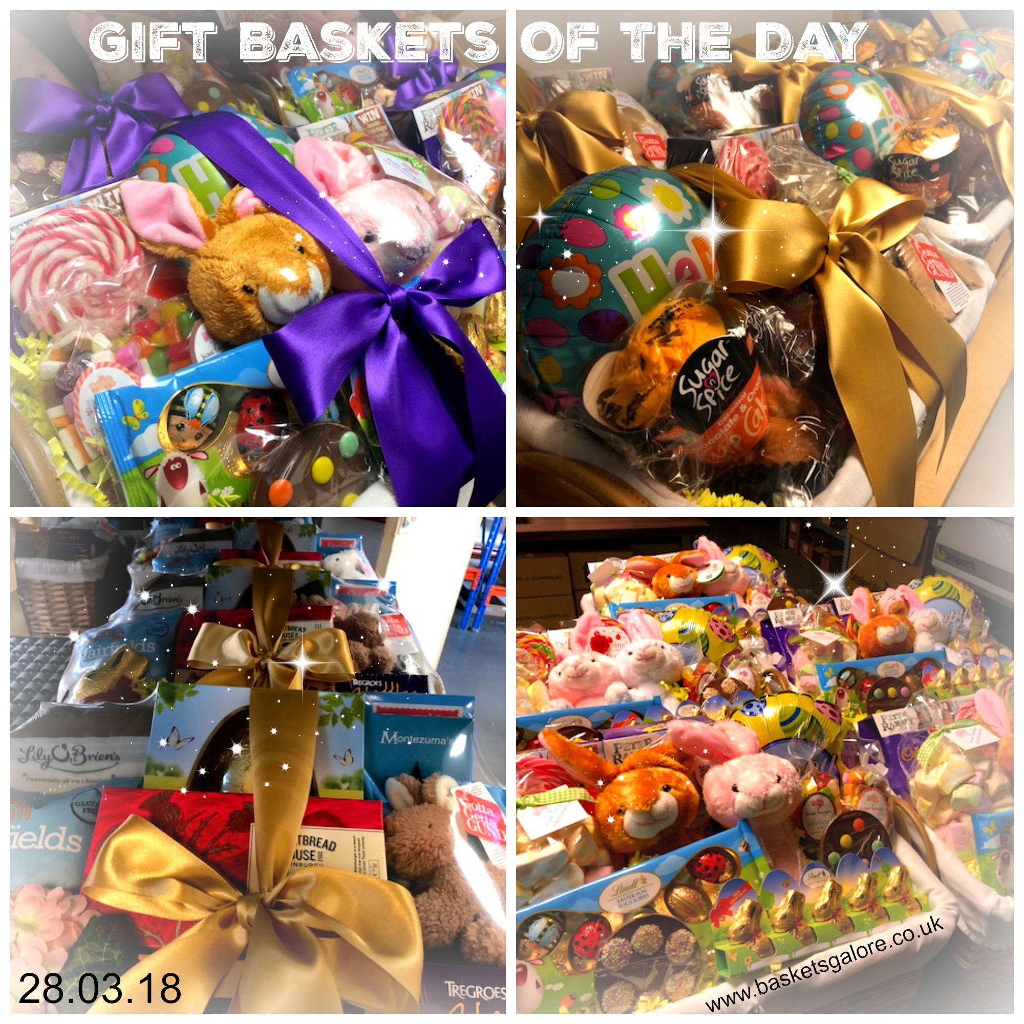 Baskets Galore's Customer Gifts – Gift Basket of the Day 28.03.18