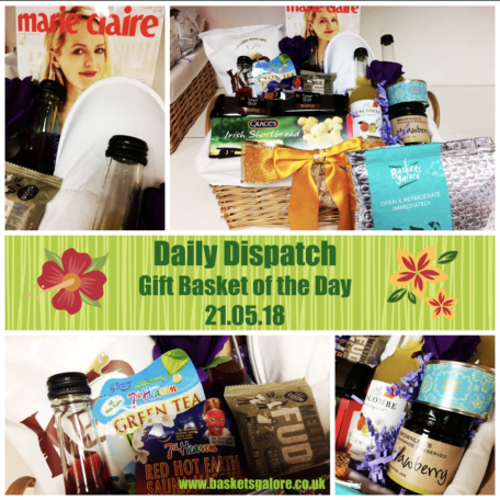Baskets Galore's Customer Gifts - Gift Basket of the Day 21.05.18