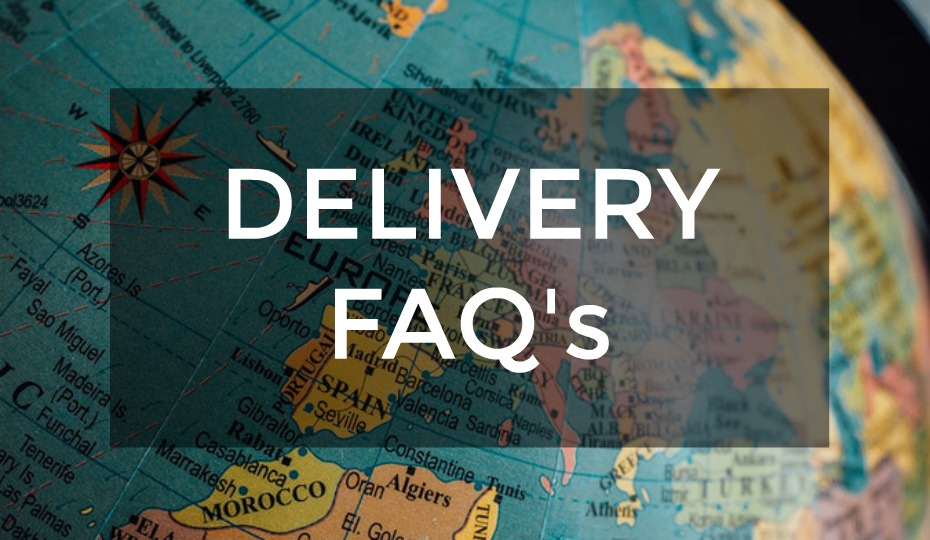Frequently Asked Delivery Questions