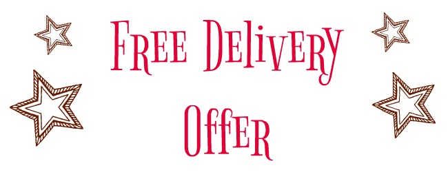 July Offer 3INTO2: Free Delivery Three Days Only