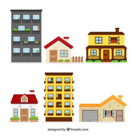Apartment, Houses, Businesses.