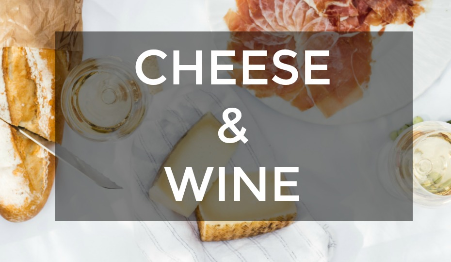 Classic Cheese & Wine Gift Baskets