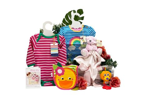 Baby Gifts For Girls Basket