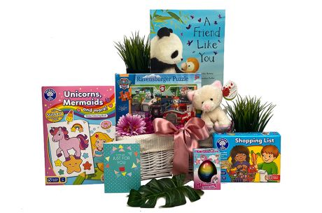 Best Years Girl Gift Basket Age 3-4