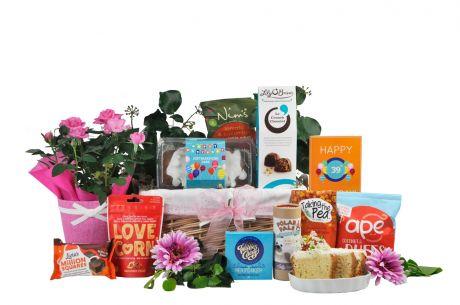 Birthday Bloom Gift Basket
