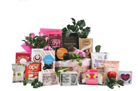 Budding Birthday Floral Gift Basket