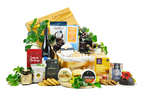 Christmas Irish Cheese & Wine Gift
