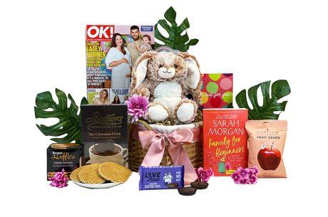 Cozy Cuddles Gift Basket