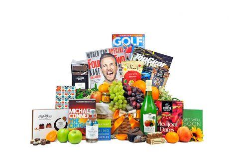 Get Well Fruit Survival Gift Basket For Him
