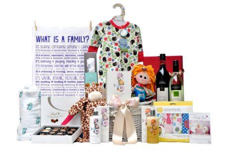 Happy Families Baby Girl Hamper Gift