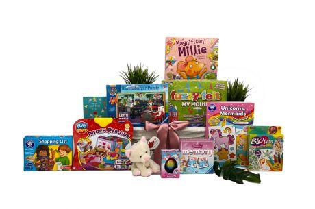 Jump For Joy Girl Gift Basket Age 3-4