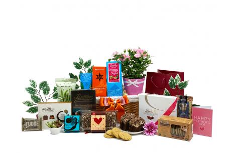 Mothers Day Celebration Gift Basket