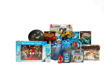 Must Have Toys For Boys Gift Basket Age 6-8