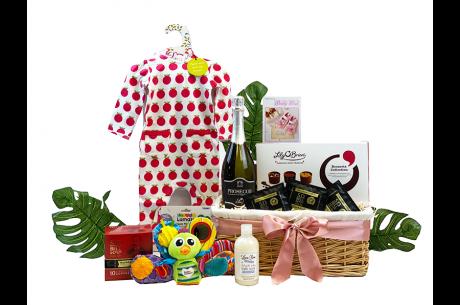 New Parents Celebration Gift Hamper Baby Girl