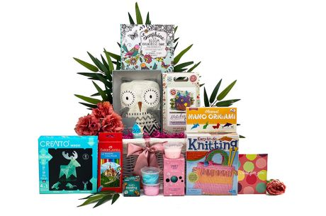 Peaceful Pastimes Girl Gift Basket Age 10 plus