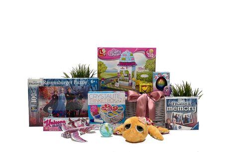 Popular Toys for Girls Gift Basket