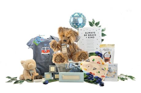Collectible Baby Boy Gift Basket