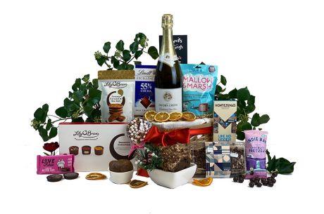 Sparkling Chocolate Eruption Gift Basket
