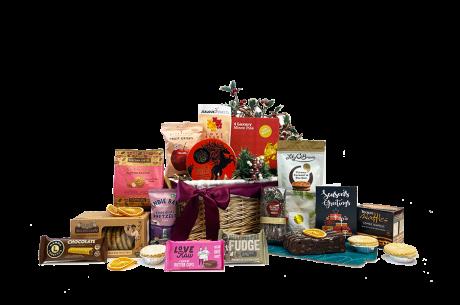 Christmas Raider Gift Basket