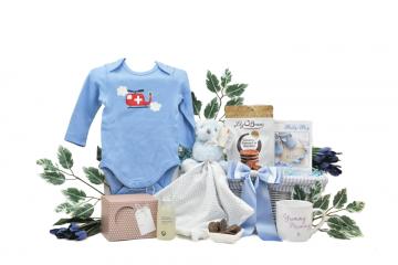 Mummy and Baby Boy Gift Basket