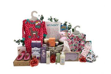 New Mum Gifts Luxury Beauty Basket Girl