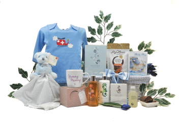 Pamper Mummy and Baby Boy Gift